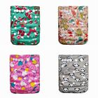 Kyпить Reusable Cloth Nappy Washable Baby Diaper Cover Wrap Set Bamboo Charcoal Hot 889 на еВаy.соm