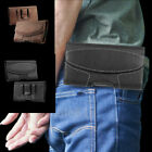 Luxury Magnetic Waist Belt Holster Carrying Pouch Phone Bag Case Leather Cover
