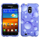 Design Snap on Case +Screen Film Cover For Epic Touch 4G D710/Galaxy S2 R760