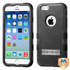 """Hybrid Impact Case +Silicone TUFF Cover + Kick Stand for iPhone 6 4.7"""""""