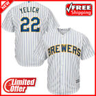 New 2019 Milwaukee Brewers Jersey MLB Men's Christian Yelich #22 Stitched Jersey on Ebay