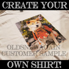 Create Your Own Personalized T-Shirt Add Own Photo Image Kids Adult Sizes S-5XL image