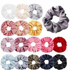 Kyпить Women Silky Satin Hair Scrunchies Elastic Hair Bands Ponytail Hair Tie Rope Gift на еВаy.соm
