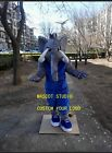 Elephant Mascot Costume Suit Cosplay Party Game Dress Unisex Halloween Adult New