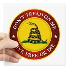 CafePress DTOM Gadsden Flag (Logo) Sticker Square Sticker  (1264703362)