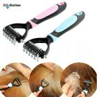 Easy Pet Grooming Undercoat Rake Comb Dematting Tool Dog Cat Brush Knot Cutter