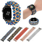 For Apple Watch Series 4 44MM Bling Agate Beads Strap Bracelet Band iWatch 1 2 3 image