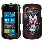 Two Piece Hard Snap on Design Protective Case for Samsung i917 Focus