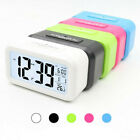 Digital LCD Electronic Alarm Snooze Clock with led Backlight Light Control L6X3F