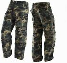 Icon Mens Superduty Camo Abrasion Resistant Motorcycle Jeans