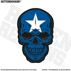 Bonnie Blue Flag Skull Decal Southern American Civil War Army Sticker V4 EVM