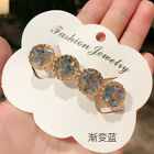 Women Fashion Vintage Hairpin Bobby Crystal Rhinestone Hair clip Jewelry Gifts image