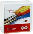 ARTLICIOUS Canvas Panels Assorted Sizes , Colors