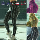 Women Compression Fitness Leggings Running Yoga Gym Scrunch Workout Active Pant