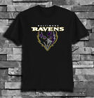Baltimore Ravens logo T-shirt tee Casual shirt Size S - 5XL $20.0 USD on eBay
