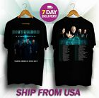 Freeship New Rare!! Disturbed Evolution Tour Dates 2019 T Shirt S-6XL image