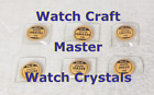Watch Craft Master Glass Crystals  - Pick 1 NOS image