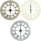Woodside Large Indoor/outdoor Open Face Garden Wall Clock With Roman Numerals