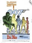 """""""Dr. No - Vintage Movie Poster"""" Wall Decal $45.69 CAD on eBay"""