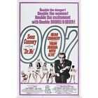 Dr. No/From Russia With Love - Vintage Movie Poster Poster Print $54.99 USD on eBay