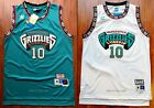 Mike Bibby 10 Vancouver Grizzlies 98 99 Rookie Throwback Jersey