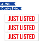 'Just Listed' Sign Riders
