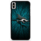SAN JOSE SHARKS LOGO iPhone 5/5S/SE 6/6S 7 8 Plus X/XS Max XR Case $15.9 USD on eBay