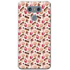 Chocolate Cakes Eclairs Sweets & Treats Hard Case Phone Cover for LG Phones