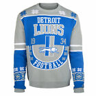 Detroit Lions Retro Cotton Sweater $54.99 USD on eBay