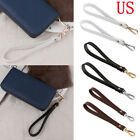 Genuine Leather Buckle Wrist Strap Wristlet Wallets Bag Purse Replacement 8 in