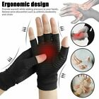 Pair Arthritis Gloves Sports Health Half Finger Recovery Therapeutic Compression $9.82 USD on eBay