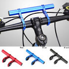 Vélo Alu Guidon Extender Double Guidon Extension Flashlight Mount Équitation