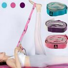 Women Physical Therapy and Yoga Loops Stretching Strap Exercise Resistance Band image