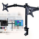 Metal Adjustable PC Screen Monitor Mount Rack Stand Fits up to 2 Screens 10-30""