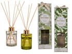 Tropical Scented Room Diffuser With Wooden Reeds - Glass Christmas Gift Set