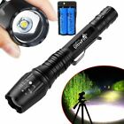 Купить Tactical Police 350000Lumens 5 Modes 18650 T6 LED Flashlight Aluminum Zoom Torch