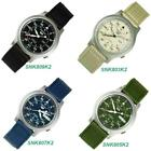 Seiko 5 Military SNK809K2 SNK807K2  SNK805K2 SNK803K2 Automatic Nylon Mens Watch image