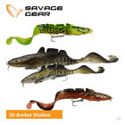 Savage Gear 3D Burbot Shallow Lures - Pike Zander Musky Predator Fishing Tackle