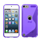 Soft Rubberized Silicone Case Cover Protector Design for iPod Touch 5th