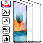 2X Full Cover Tempered Glass Screen Protector For Xiaomi Redmi Note 6 7 8 Pro 8T