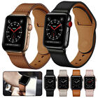 For Apple Watch Series 5 4 3 2 1 Genuine Leather Band Strap iWatch 38/42/40/44mm image