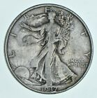 1937 Walking Liberty 90% Silver US Half Dollar *646