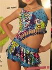 DANCE COSTUME JAZZ TAP HIP HOP SKATE PAGEANT ART STONE PUSH IT