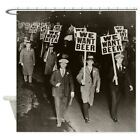 CafePress We Want Beer! Prohibition Protest Shower Curtain (1003809567)