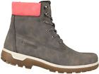 Discovery EXPEDITION Womens Adventure High Top Lace up Hiking Boot Gun Metal NEW