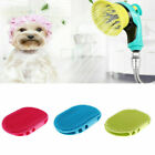 Rubber Cat Dog Cleaning Massage Grooming Pet Double-sided Bath Massage Brush