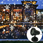 Купить Christmas Snowflake LED Laser Projector Light Snow Outdoor Garden Landscape Lamp