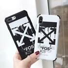 Off-White Sprvvy FOS Paint Matte Case for iPhone X Xs Max XR & iPhone 11 Pro Max