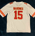 New PATRICK MAHOMES #15 Kansas City Chiefs Men's WHITE Football Jersey $35.99 USD on eBay