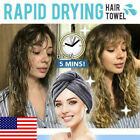 Rapid Drying Hair Towel Thick Absorbent Shower Cap Free Shipping Us An